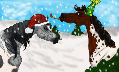 Mare-y christmas and an Appy New year