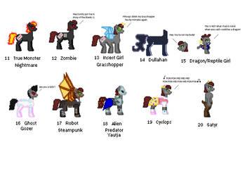 30 day Monster Pony challenge Alice part 2