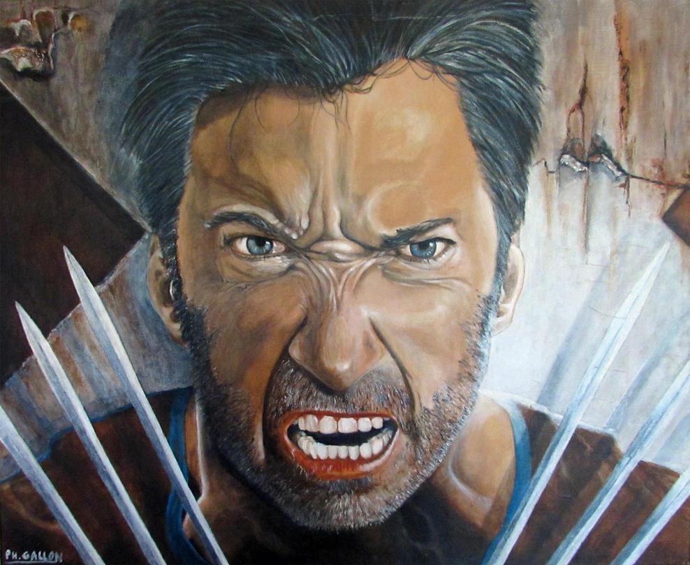 Hughes-Jackman-Aka-Wolverine by Philart666