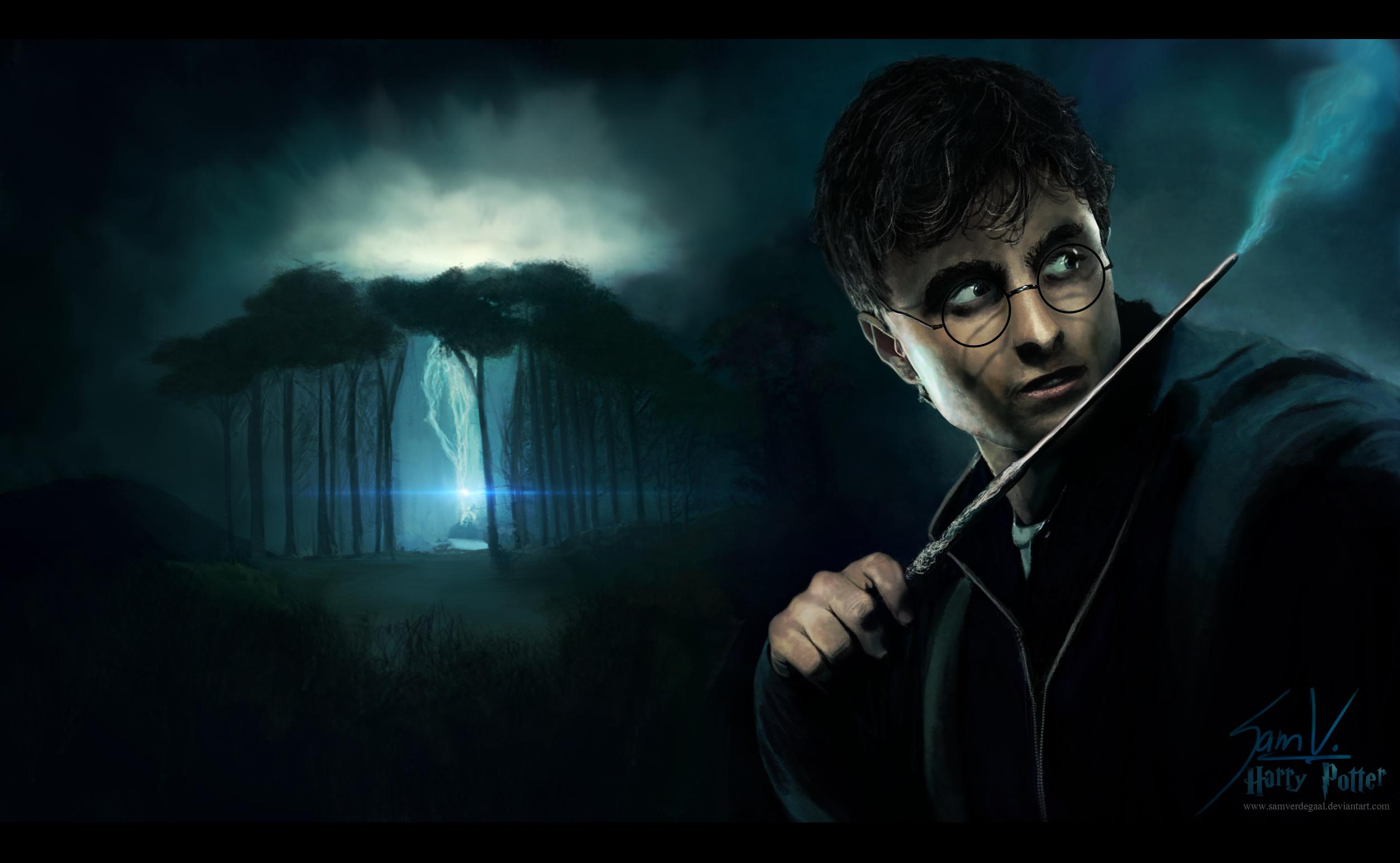 Cool Wallpaper Harry Potter Background - harry_potter___wallpaper_by_samverdegaal-d4se5ft  Pic_50218.png