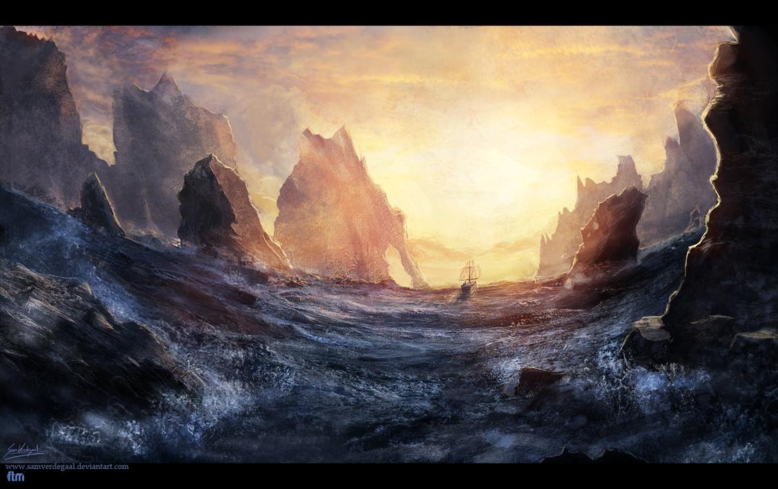 The Ships Voyage by SamVerdegaal