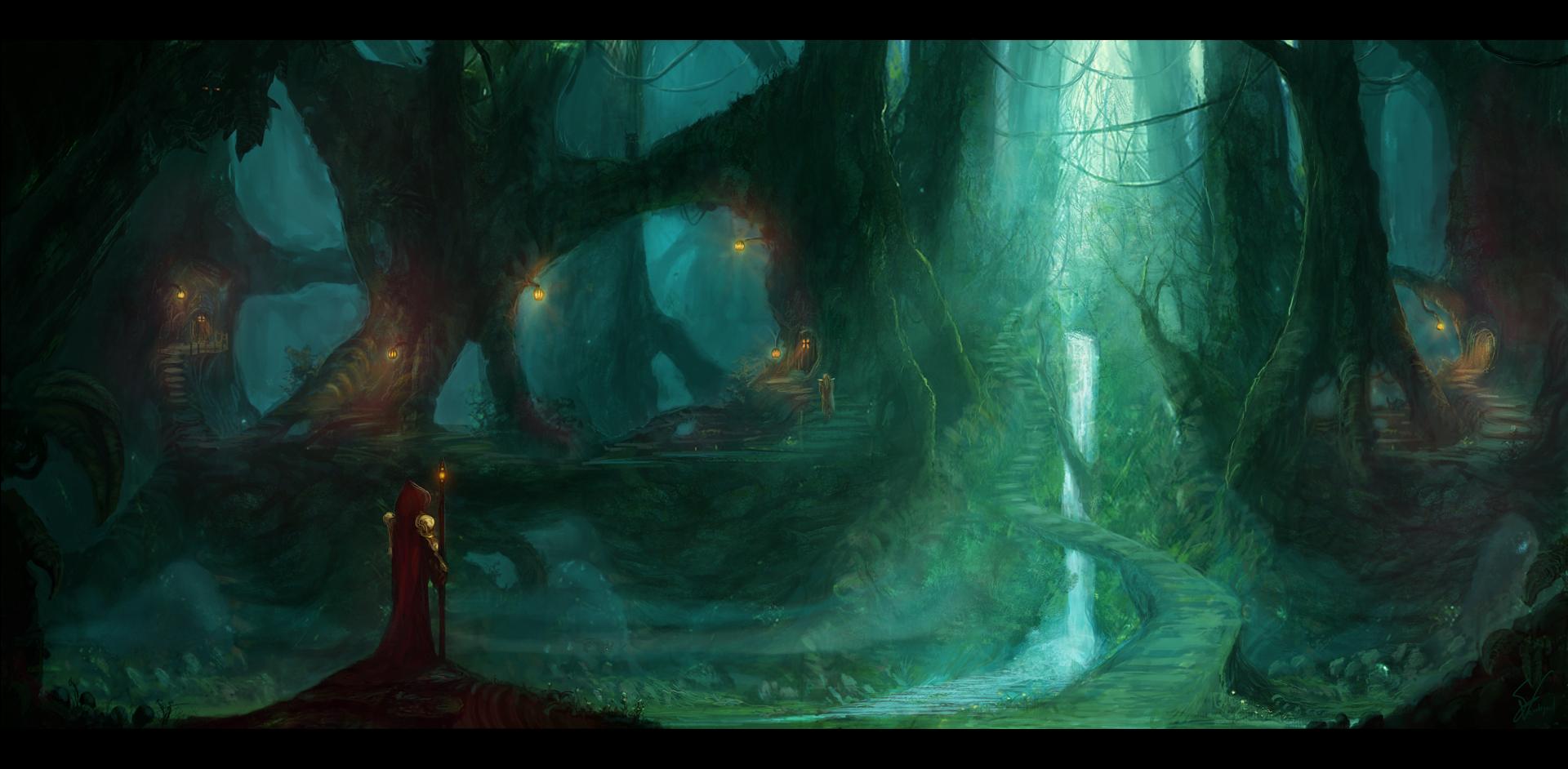 Empire of the Wood Elves by SamVerdegaal