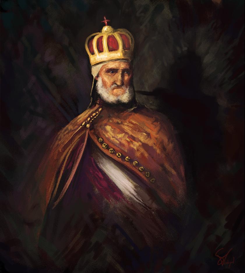 The King's Last Breath by SamVerdegaal
