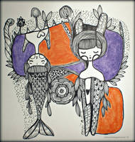 twins by harsainiersanti