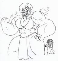 Muscle Bound Empress by Da-Fuze