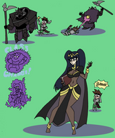Tharja TG TF by Da-Fuze