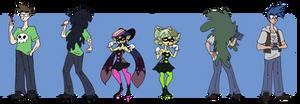 Splatoon Squid Sister TF TG