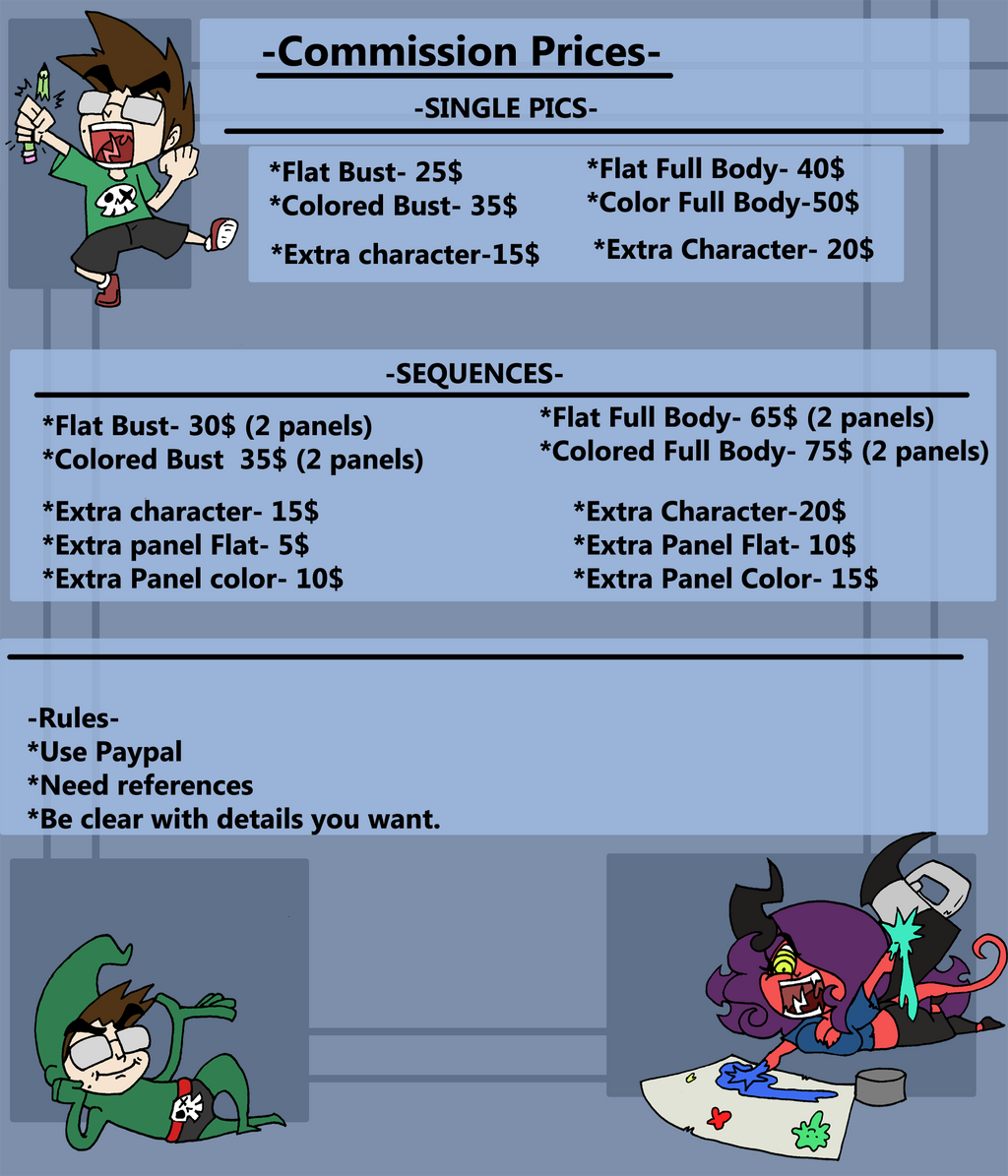 !Commission Prices 2018! by Da-Fuze