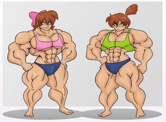 Buff Twins by Da-Fuze