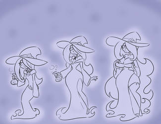 Sketch Com Sucy Age Progression by Da-Fuze