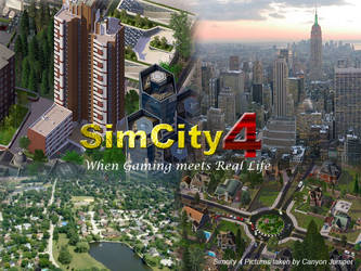 Simcity 4 Promotional Poster