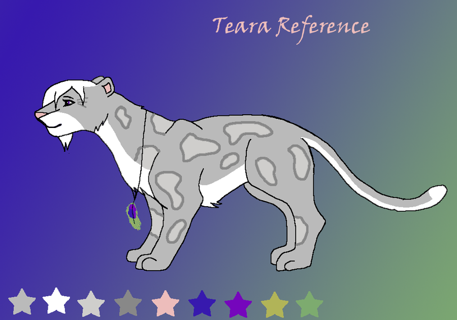 Teara Reference by LightningStrikeTwice