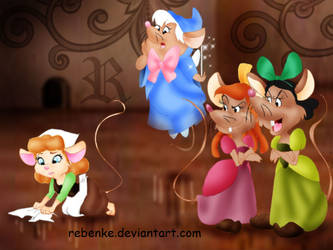 Cinderella Mouse by rebenke