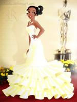 Tiana at the Oscars by rebenke