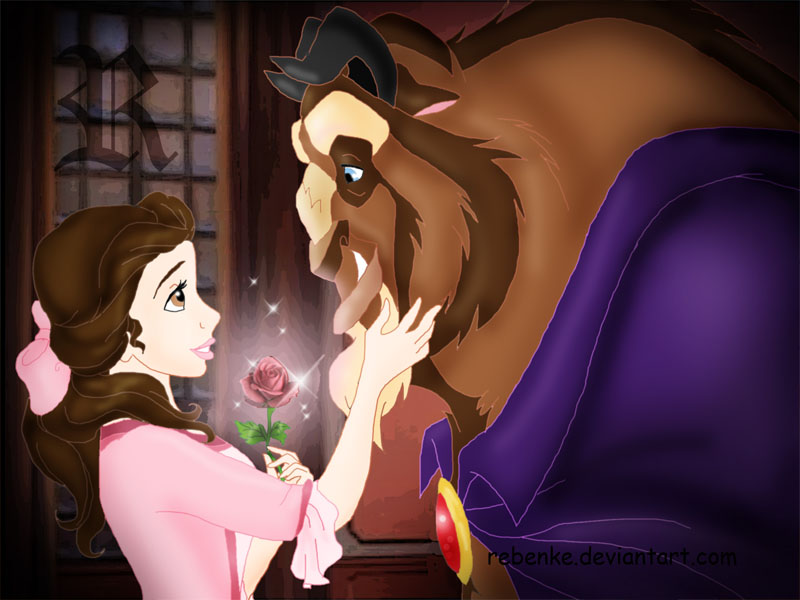 Beauty And The Beast By Rebenke