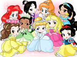 Chibi-Disney Princesses