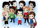 Chibi-Disney Princes