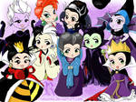 Chibi-Disney woman evil