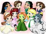 Chibi-princess NO disney