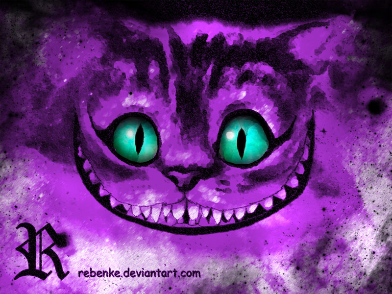 La Sonrisa Del Gato By Rebenke On Deviantart