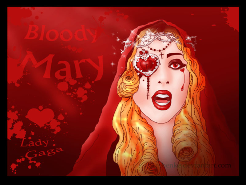bloody mary by rebenke on deviantart. Black Bedroom Furniture Sets. Home Design Ideas