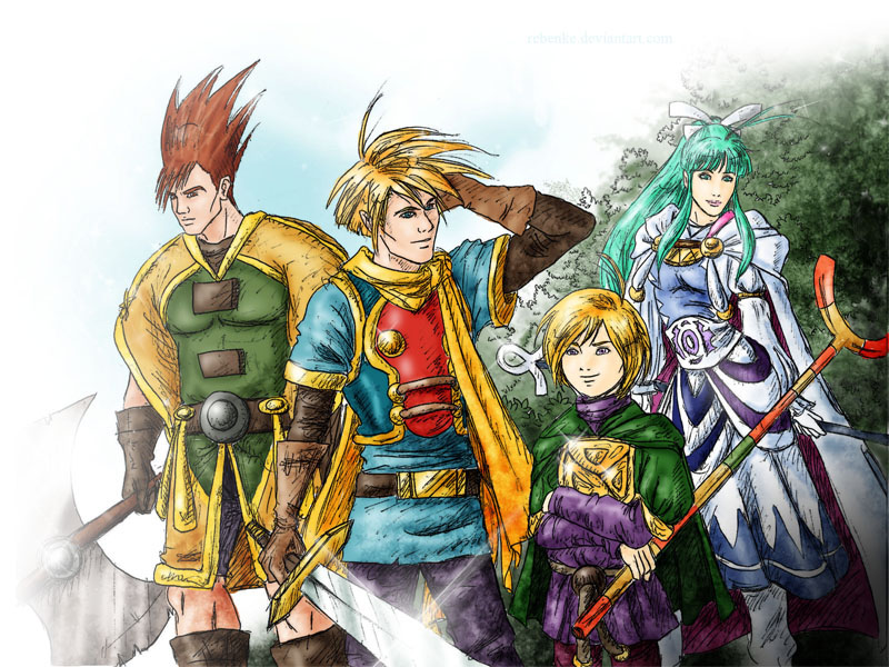 Golden Sun 1 by rebenke