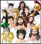 Pantheon of Olympian gods