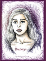 Daenerys by rebenke