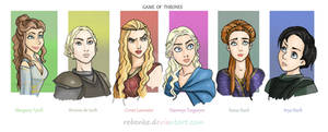 Ladies 1 Game of Thrones