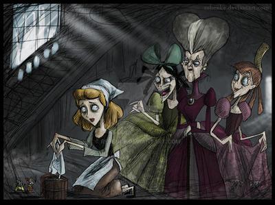 Cinderella Burton by rebenke