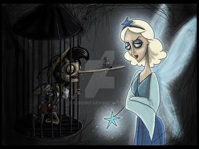 Pinocchio Burton by rebenke