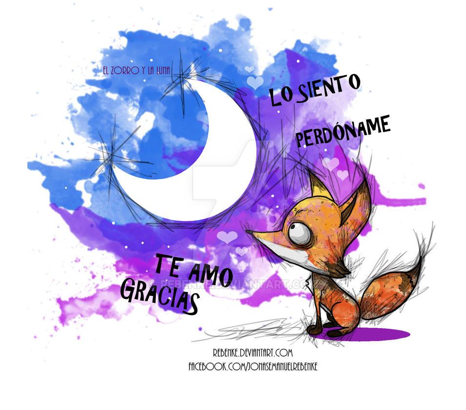 El zorro y la Luna by rebenke