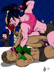 Alicia Harding during her MMA career by adamalonzo22