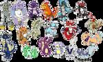 OC Digimon Requests Part 2 by ashflura
