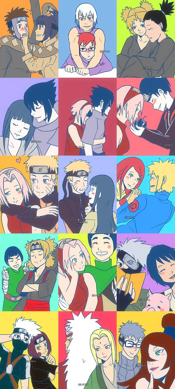 Esos combos molestos que los fans elaboran para que todos se emparejen Naruto_couples_by_ashflura-d4vvrs9