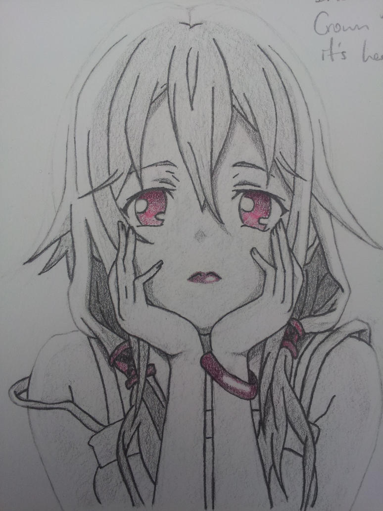 Inori - Guilty Crown by craigelbagel