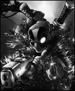 DeadPool Chibi Avatar.  Deadpool_avatar_by_dawidkilldeagons-d5xq42j