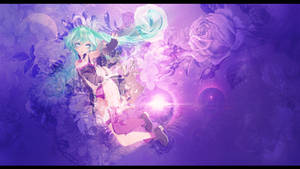 .: orchid :. - HB Miku - by Miky-Rei