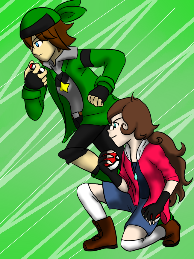 Contest Prize: Maggie and Elon by LizDoodlez