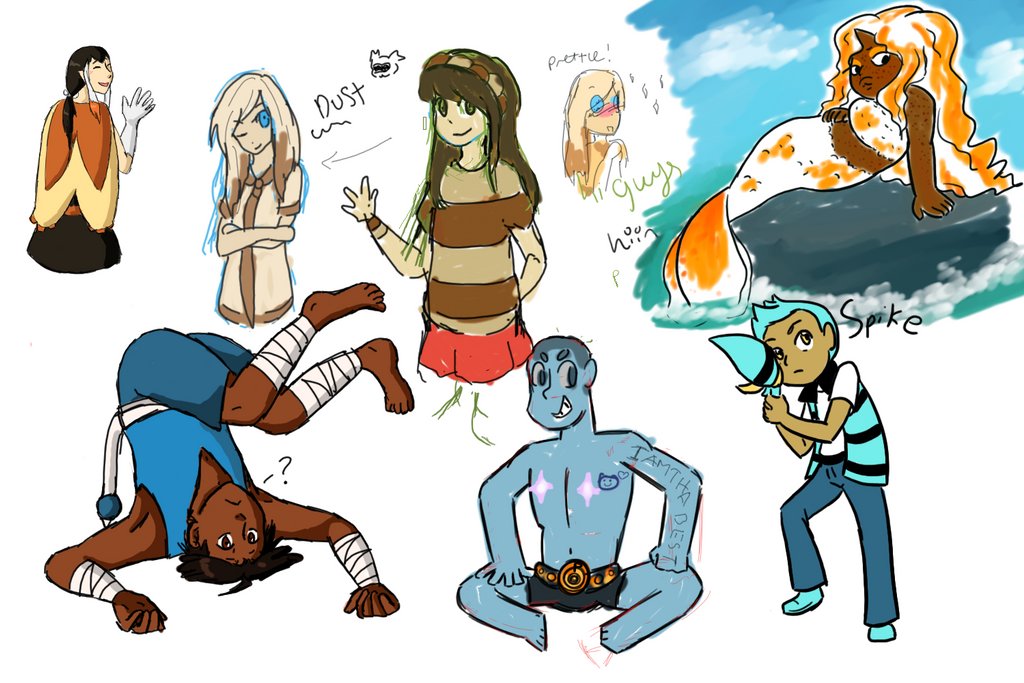 Drawpile Aug 20th by LizDoodlez
