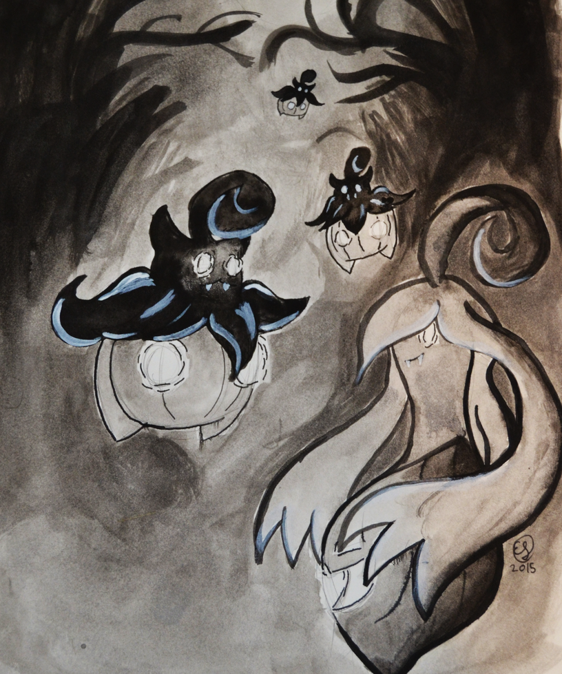Inktober 2015 Day 1 by LizDoodlez