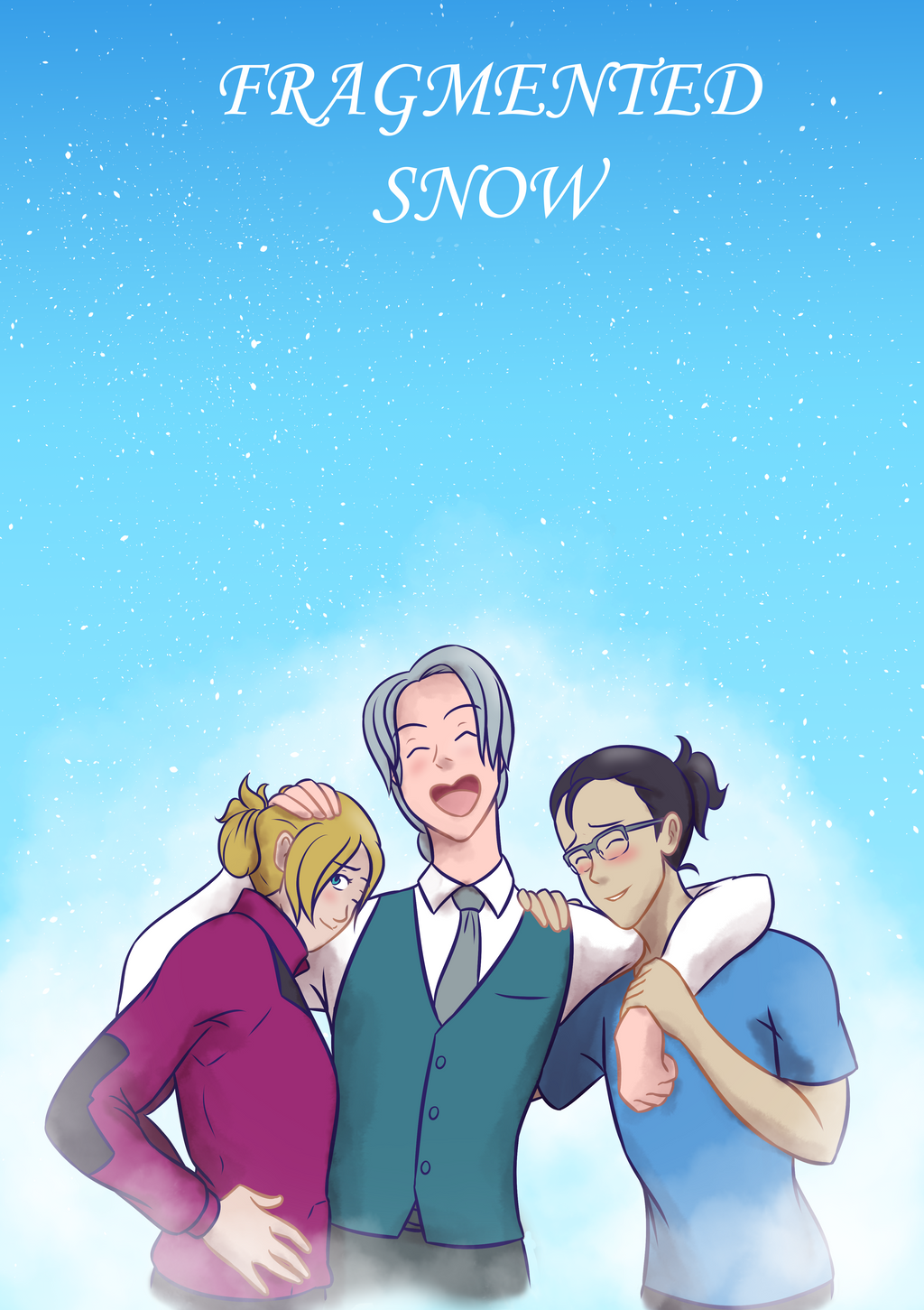 YoI: Fragmented Snow by LizDoodlez