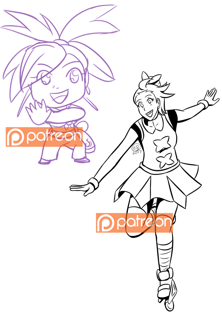Feb2017 Patreon Requests by LizDoodlez