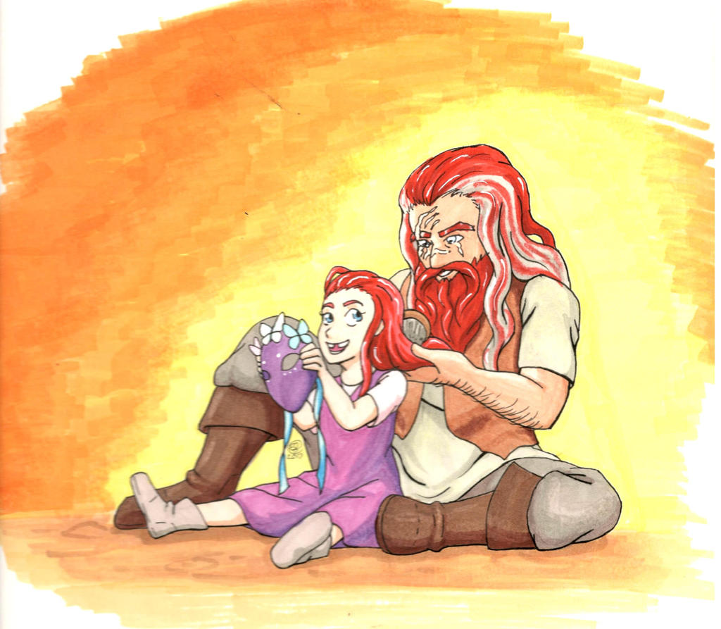 Thorbir by LizDoodlez