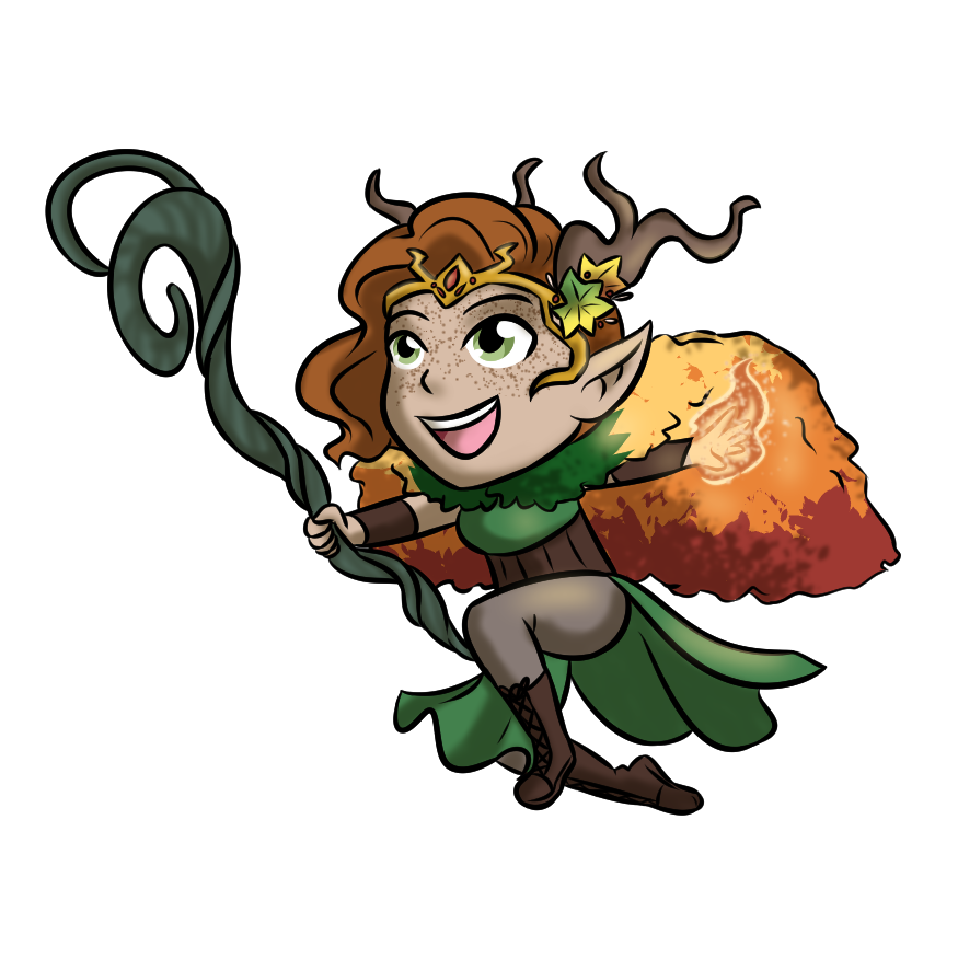 Keyleth of the Air Ashari by LizDoodlez