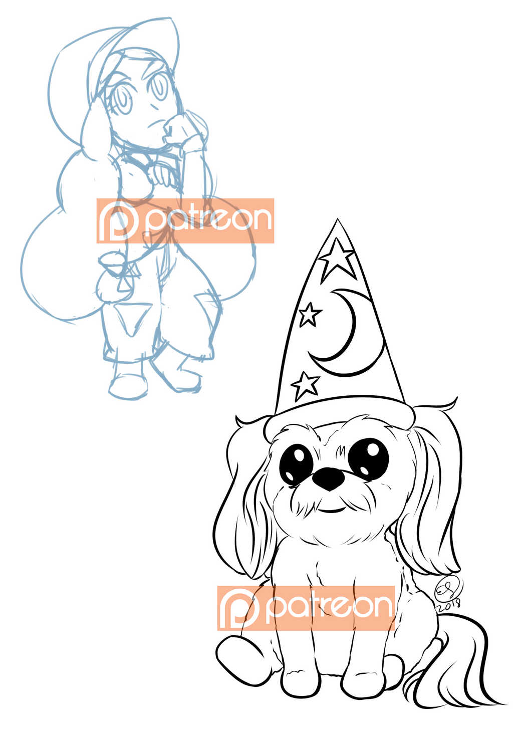 Jan2018patreon requests by LizDoodlez