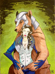 Critical Role Lady Vex and Trinket by LizDoodlez