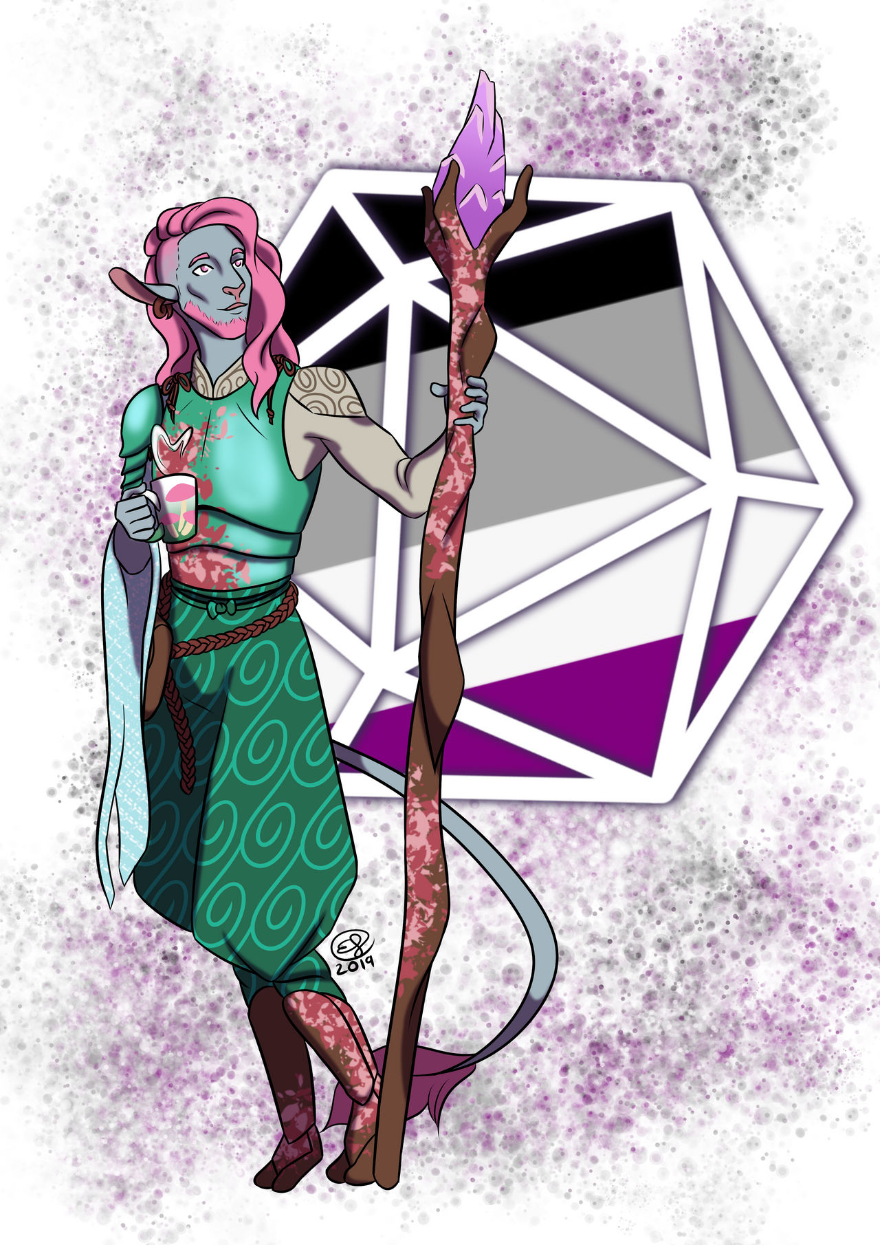 Critical Role Pride 2019 Caduceus By Lizdoodlez On Deviantart Our fan art gallery for the week of 11/25! critical role pride 2019 caduceus by