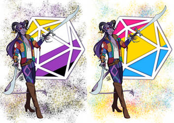 Critical Role Pride 2019 Mollymauk by LizDoodlez