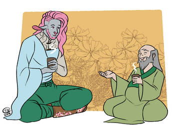 Critical Role: Tea Time by LizDoodlez